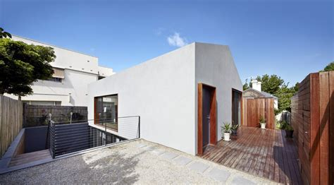 sunken courtyard house partially submerged  fit