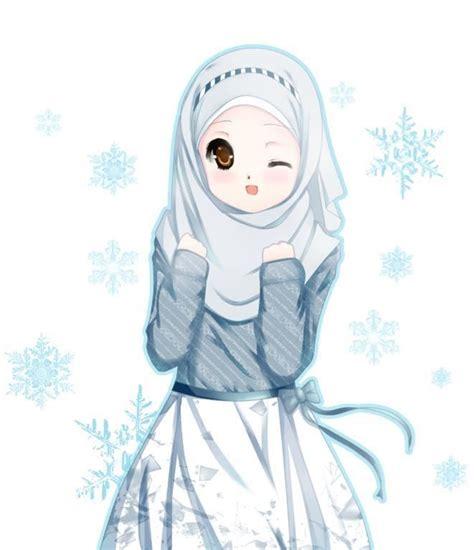 koleksi gambar gambar anime muslim  lucu terbaru