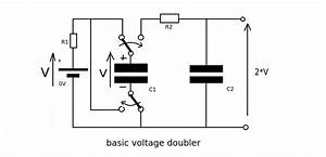 voltage application of charge conservation electrical With the basic series rc circuit is shown schematically below
