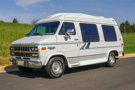Conversion Vans For Sale by No Reserve 1995 Chevrolet G20 Tiara Conversion For
