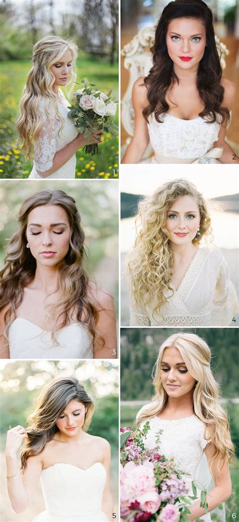 best 25 wedding hair down ideas on pinterest bride
