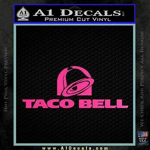 Forever 21 Chart Size Taco Bell Decal Sticker Logo A1 Decals