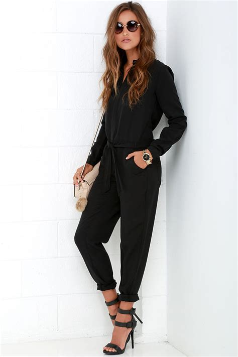 black jumpsuit with sleeves best 25 jumpsuit with sleeves ideas on black