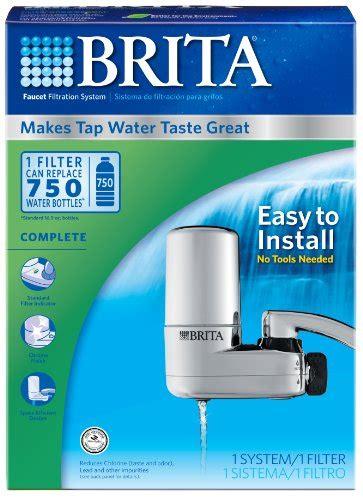 kitchen sink water filter system new brita water kitchen counter sink filtration system tap 8564