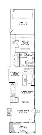 narrow lot lake house plans 25 best ideas about narrow house plans on