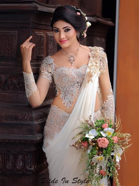 sri lankan designer wear bridal bridesmaids hair makeup by tharangaa