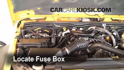 replace  fuse   jeep wrangler  jeep