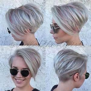 20 short haircuts with highlights short hairstyles 2017 With nice mariage de couleur avec le gris 8 couleurs cheveux courts un top 20 coiffure simple et