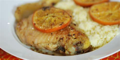 cuisine israelienne recettes de cuisine poulet aux clémentines et au fenouil quileutcuit