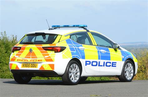 vauxhall astra hatchback uk police car gm authority