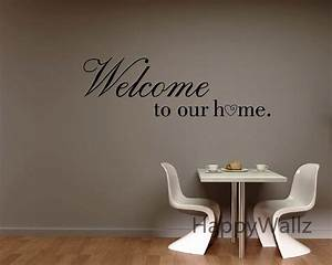 Welcome to our home family quote wall sticker family quote for The best of family decals for walls
