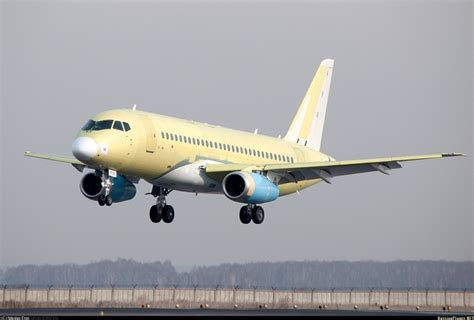 The second SSJ100 for Mexican Interjet Airlines made its maiden flight