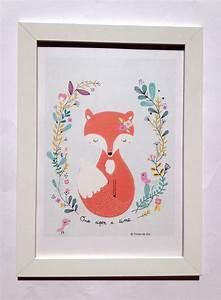 17 meilleures idees a propos de dessin renard sur With affiche chambre bébé avec robe vintage fleur