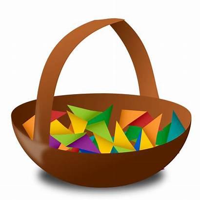 Raffle Basket Clipart Clip Easter Ticket Transparent