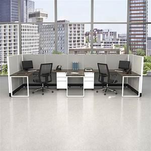Commercial, Office, Furniture, 53h, 2pack, Bullpen, Unpowered