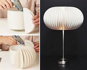 Schirm Für Stehlampe : lampenschirm basteln 55 attraktive anleitungen und ideen ~ Frokenaadalensverden.com Haus und Dekorationen