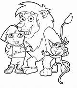 Coloring Dora Explorer Pages Printable Birthday Printables Hubpages Cartoon Sheets Books Makinbacon Printing Explore Children Happy Friends sketch template