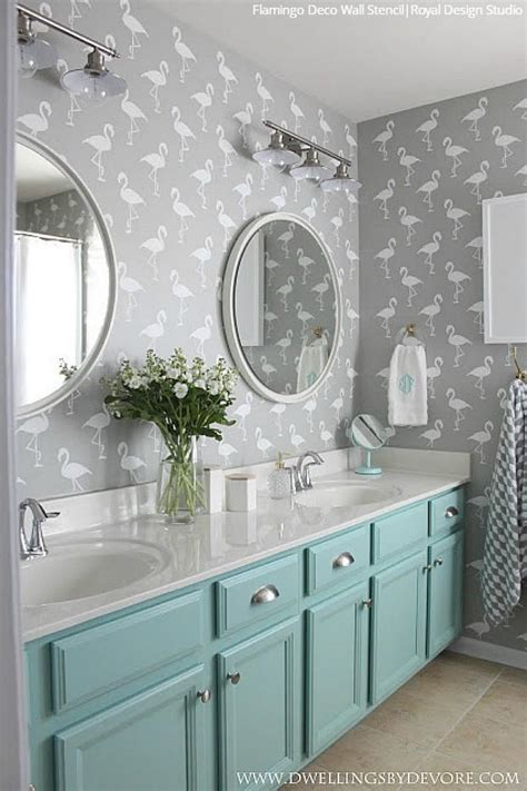 Bathroom Stencil Ideas by Wall Stencils The Secret To Remodeling Your Bathroom On A