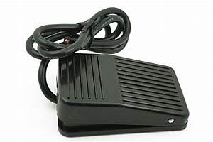 1m Cable Wire Foot Switch Electric Footswitch Pedal