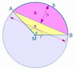 Kreissegment Radius Berechnen : kreissegment erkl rung im lernvideo ~ Themetempest.com Abrechnung
