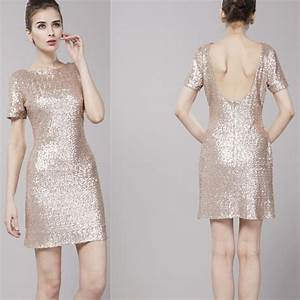 Elegant short gold bridesmaid dresses sang maestro for Short gold dresses for wedding
