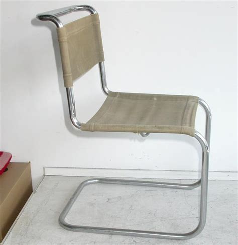 pair of 1927 thonet quot b33 quot chairs by marcel breuer at 1stdibs