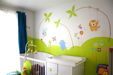 decoration murale bebe chambre dessin chambre garcon avec awesome coloriage decoration
