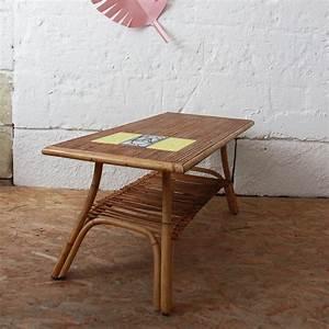 Table Basse Rotin : table basse rotin roger capron atelier du petit parc ~ Teatrodelosmanantiales.com Idées de Décoration