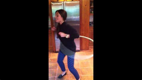 olivia godfrey hula hoops  catches strawberry  mouth