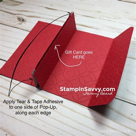 4 5 x 11 gift card template pop up gift card holder tutorial nothing sweeter bundle