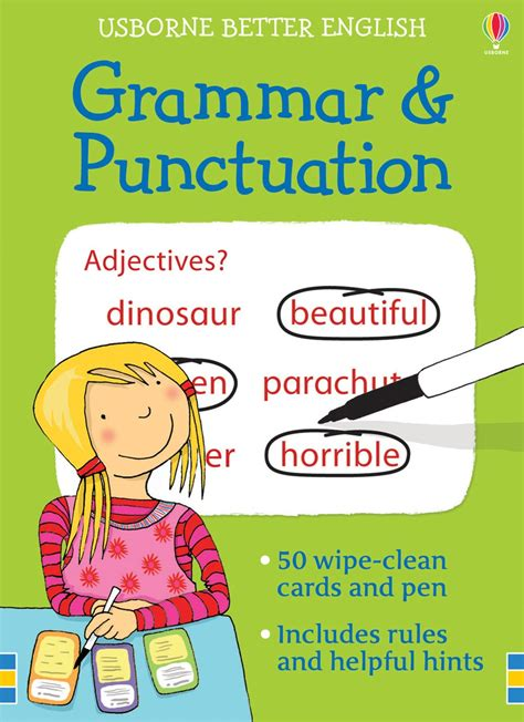"""grammar And Punctuation Cards"" At Usborne Children's Books"