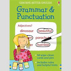 """grammar And Punctuation Cards"" At Usborne Children's Books"