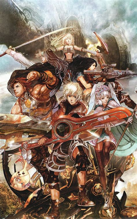 Xenoblade Chronicles Character Poster Favorite