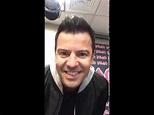 Jordan Knight first facebook live!!! at mix 1041 morning ...
