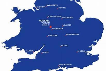 Map Centre Ordnance Survey Wolverhampton Class Excellence
