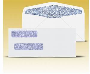 buy window envelopes online at window envelopes com With double window envelope template