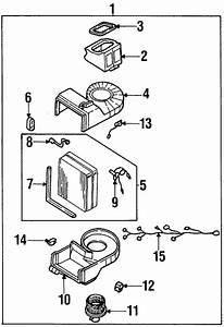 Kia Sportage A  C Evaporator Temperature Sensor  Air  Conditioning  Heater
