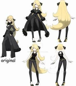 Pokemon Diamond Pearl REMAKE Cynthia by vikthor01 on ...