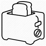 Toaster Drawing Toast Icon Maker Getdrawings sketch template