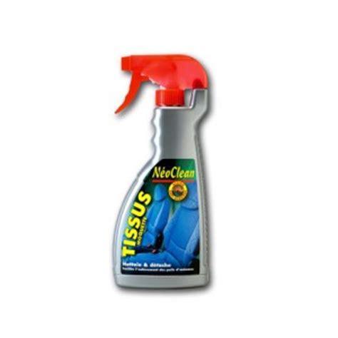 detachant siege auto nettoyant tissus et moquettes de voitures neoclean