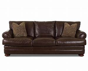 klaussner montezuma leather sofa with rolled arms value With klaussner leather sectional sofa