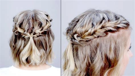hairstyle   day topsy tail crown hairstyle  short
