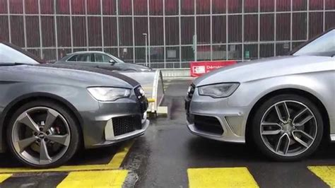audi rs  audi  visual differencies youtube