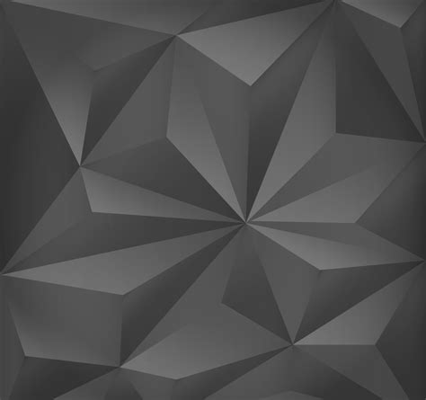 Abstract Black Triangle Wallpaper by Abstract Triangles Render Desktop Wallpaper