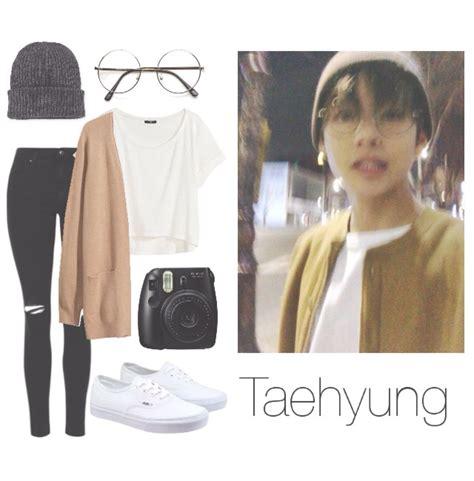 BTS V/Taehyung Selca insp. outfit   BTS outfits   Pinterest   Taehyung selca BTS and Spring