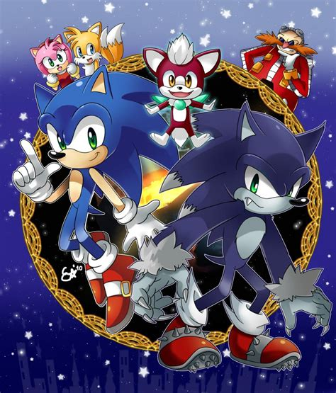 Sonic the Werehog, Fanart - Zerochan Anime Image Board