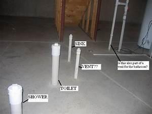 Popular basement plumbing rough in basement rough in for Plumbing for new bathroom