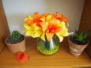 Fleur En Origami Facile : diy origami facile la fleur de lys ~ Farleysfitness.com Idées de Décoration