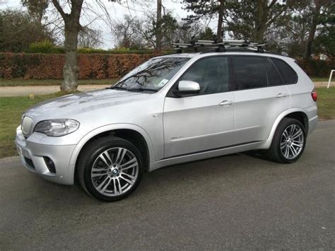 Used Bmw X5 2012 Silver Paint Diesel Xdrive40d M Sport 5dr