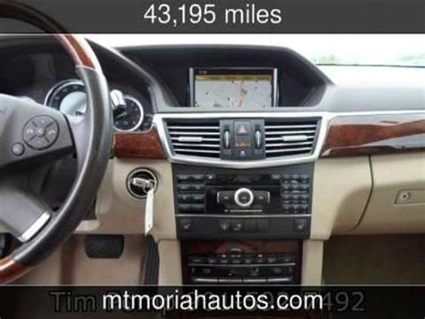 2010 mercedes e350 panoramic sunroof luxury used cars tennessee 2013 05 21